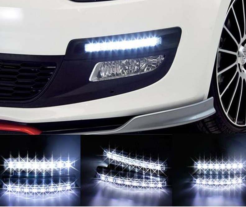LED-belysning servicebil